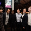 Colin Morgan (cast), Branden Jacobs-Jenkins (Writer), Bayo Gbadamosi (cast), Bo Poraj (cast), Michael Longhurst (Director) and Joseph Winters (Assistant Director)
