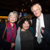 Claire Tomalin, Miriam Morgolyes and Michael Frayn