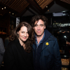 Louise Delamore and Stephen Mangan