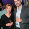 Claire Skinner and Hugh Dennis