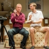 Steffan Rhodri and Stephen Merchant in The Mentalists (Wyndham's Theatre, 2015)
