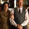 With Felicity Jones, Iain Glen and Ellie Kendrick in The Diary of Anne Frank (2009)