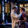With Iain Glen in Longing (Hampstead Theatre, 2013)