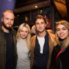 Ben Hall, Emily Berrington, Ben Lloyd-Hughes and guest
