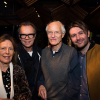 Claire Tomalin, Jonathan Kent (Director), Michael Frayn and James McArdle