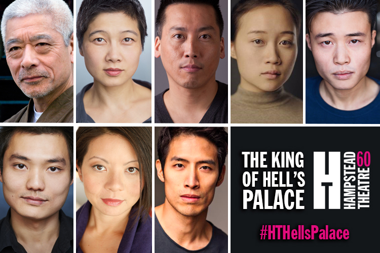 FULL CAST ANNOUNCED FOR THE KING OF HELL'S PALACE