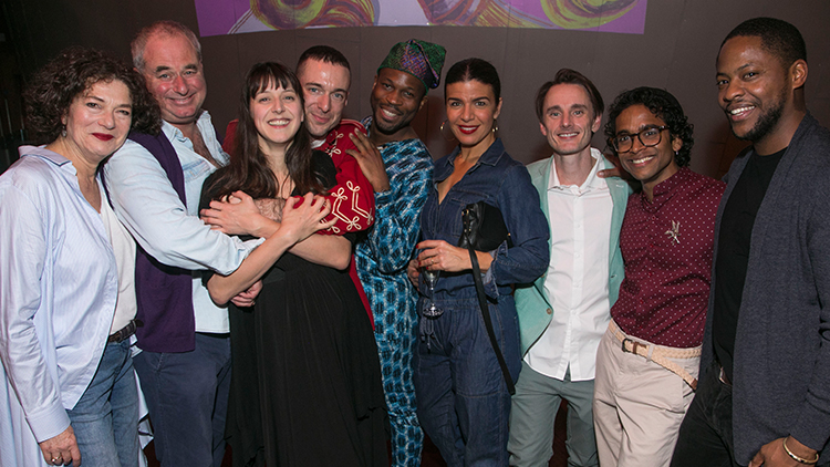 BOTTICELLI IN THE FIRE: PRESS NIGHT PHOTOS