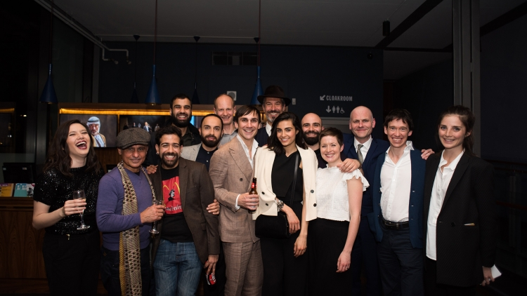 Occupational Hazards: Press Night Photos
