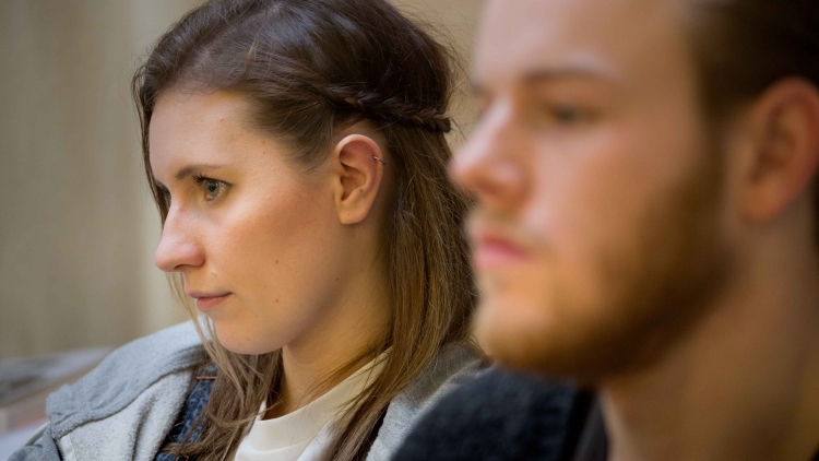 In the rehearsal room with Filthy Business' Callie Cooke and Callum Woodhouse