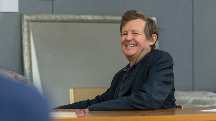 EVENING STANDARD INTERVIEWS THE MODERATE SOPRANO WRITER DAVID HARE