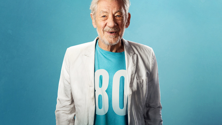 IAN MCKELLEN ON STAGE AT HAMPSTEAD THEATRE