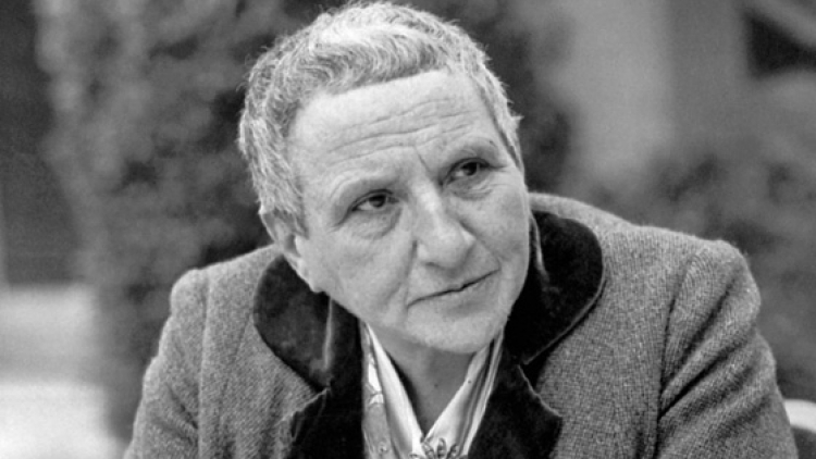 Say It With Flowers: A history of Gertrude Stein