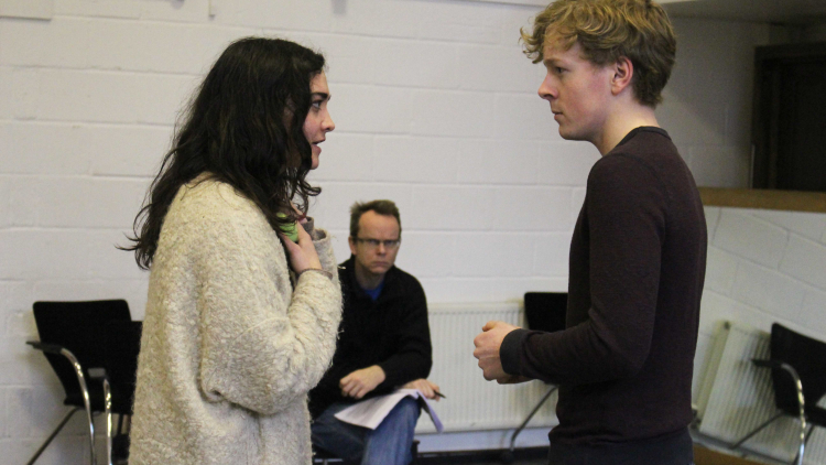 The Mystae: In rehearsals