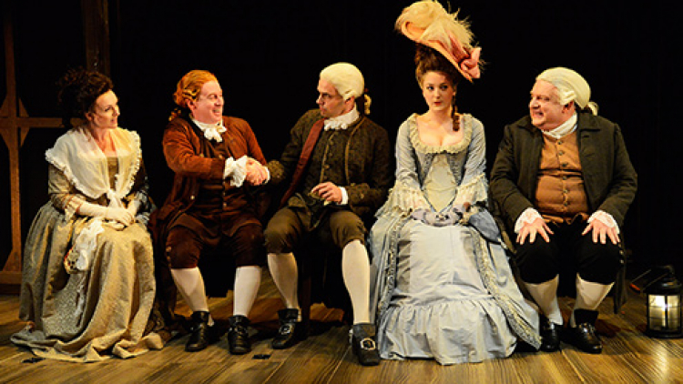 Mr Foote's Other Leg: ★★★★ from Guardian