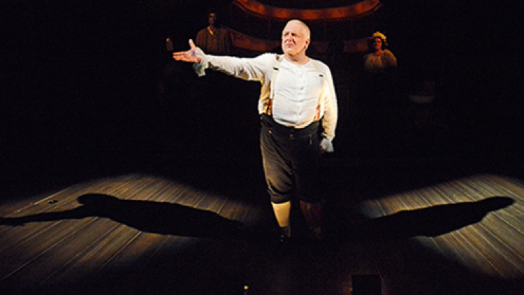 Time Out: Backstage with Simon Russell Beale